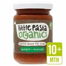 Little Pasta Organics Free From Broccoli and Spinach Pasta Sauce 130g 10 Months