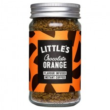 Littles Chocolate Orange Flavour Infused Instant Coffee 50g