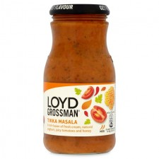 Loyd Grossman Tikka Masala Sauce 350g