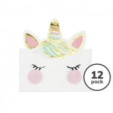 Magical Unicorn Paper Napkins 12 per pack