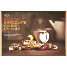 Marks and Spencer  Belgian Chocolate Chunk Cookie Selection 500g