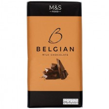 Marks and Spencer Belgian Milk Chocolate 180g