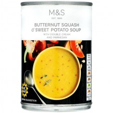 Marks and Spencer Butternut Squash Sweet Potato Soup 400g