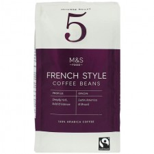 Marks and Spencer Cafe Connoisseur Coffee Beans 227g Strength 5