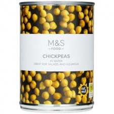 Marks and Spencer Chickpeas 400g net 240g drained