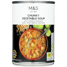 Marks and Spencer Chunky Vegetable Soup 400g