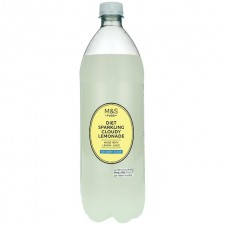 Marks and Spencer Cloudy Diet Lemonade 1Litre