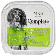 Marks and Spencer Complete Tender Lamb Casserole with Courgettes Dog Food 150g