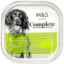 Marks and Spencer Complete Tender Lamb Dinner with A Hint of Rosemary Dog Food 300g