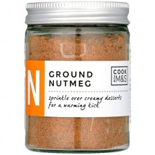 Marks and Spencer Cook with M&S Ground Nutmeg 44g in Glass Jar