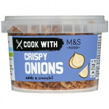 Marks And Spencer Crispy Onions 100g