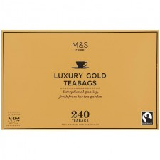Marks and Spencer Gold Tea 240 Teabags