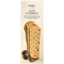 Marks and Spencer Handcrafted Black Olive Italian Flatbread 150g
