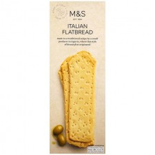 Marks and Spencer Handcrafted Plain Italian Flatbread 150g