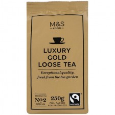 Marks and Spencer Luxury Loose Leaf Gold Tea 250g