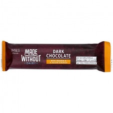 Marks and Spencer Made Without Dark Chocolate with Orange Bar 36g