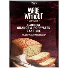Marks and Spencer Made Without Wheat Orange and Poppy Seed Cake Mix 300g
