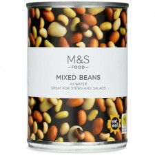 Marks and Spencer Mixed Beans 400g Tin