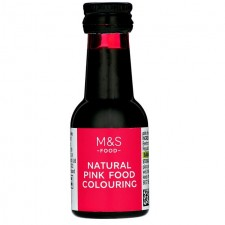 Marks and Spencer Natural Pink Food Colouring 38ml