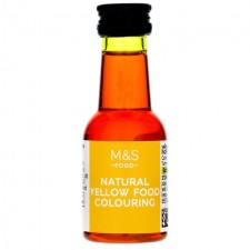 Marks and Spencer Natural Yellow Food Colouring 38ml