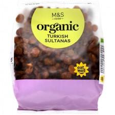 Marks and Spencer Organic Turkish Sultanas 375g