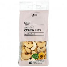 Marks and Spencer Roasted Cashew Nuts 150g