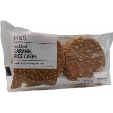 Marks and Spencer Salted Caramel Chocolate Rice Cakes 114g