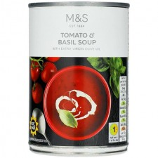 Marks and Spencer Tomato and Basil Soup 400g