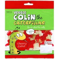 Marks and Spencer Veggie Colin the Caterpillar Cherry Gums 170g