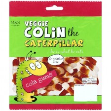 Marks and Spencer Veggie Colin the Caterpillar Cola Gums 170g