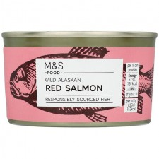 Marks and Spencer Wild Alaskan Red Salmon 213g