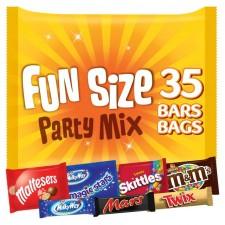 Mars Variety 35 Funsize Bars 600g