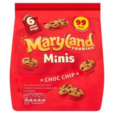 Maryland Cookies Mini Chocolate Chip 6 pk