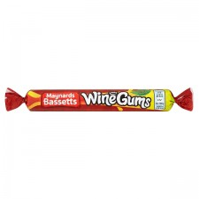 Maynards Bassetts Wine Gums Roll