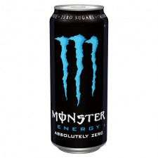 Monster Energy Absolutely Zero No Added Sugar 500ml Can