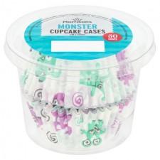 Morrisons Monster Cupcake Cases 50 per pack