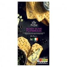 Morrisons The Best Black Olive Flatbread 75g