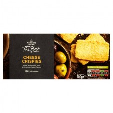 Morrisons The Best Cheese Crispies 100g