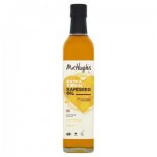 Mr Hughs Extra Virgin Cold Pressed Rapeseed Oil 500ml