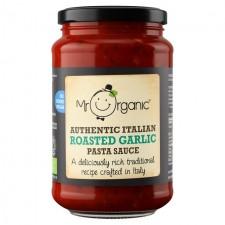 Mr Organic No Added Sugar Roasted Garlic Pasta Sauce 350g
