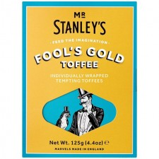 Mr Stanleys Fools Gold Butter Toffee 125g