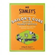 Mr Stanleys Sailors Cure Salted Peanut Brittle 150g