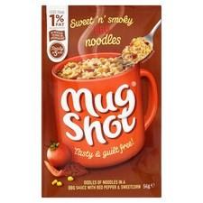 Mug Shot Noodles BBQ Beef 56g