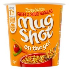 Mug Shot On The Go Sweet And Sour Noodle 67g