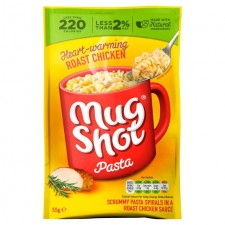 Mug Shot Pasta Snack Roast Chicken 55g