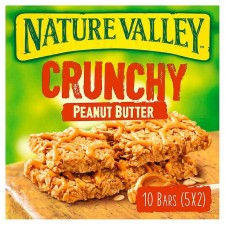 Nature Valley Crunchy Granola Bars Peanut Butter 5 Pack