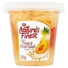 Natures Finest Tropical Fruit Salad 200g