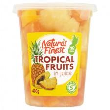 Natures Finest Tropical Fruit Salad in Juice 400g