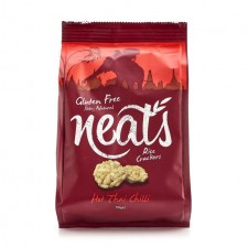 Neats Hot Thai Chilli Hand crafted Rice Crackers 50g