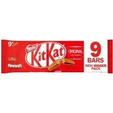 Nestle Kit Kat 2 Finger Milk Chocolate 9 Pack